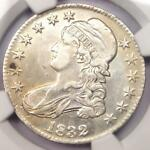 1832 CAPPED BUST HALF DOLLAR 50C   NGC XF DETAILS  EF     COIN   NEAR AU