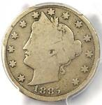 1885 LIBERTY NICKEL 5C   PCGS G6    KEY DATE CERTIFIED COIN   $650 VALUE