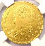 1808 CAPPED BUST GOLD HALF EAGLE $5   CERTIFIED NGC VF DETAIL    GOLD COIN