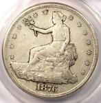 1876 S TRADE SILVER DOLLAR T$1   ANACS XF45 DETAIL  EF45     CERTIFIED COIN
