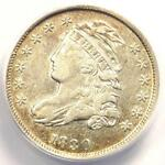 1830 CAPPED BUST DIME 10C   ANACS XF40 DETAIL  EF     EARLY CERTIFIED COIN