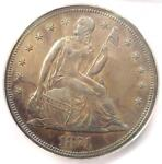 1871 PROOF SEATED LIBERTY SILVER DOLLAR $1 COIN   ICG PR62  PF62    $3030 VALUE