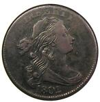 1802 DRAPED BUST LARGE CENT 1C S 230   ANACS XF DETAILS / NET VF30    COIN