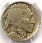 1918/7 D BUFFALO NICKEL 5C   PCGS VG DETAILS    OVERDATE VARIETY COIN