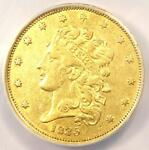 1835 CLASSIC GOLD HALF EAGLE $5   ANACS XF45 DETAIL    CERTIFIED GOLD COIN