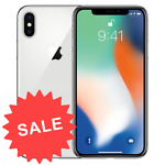 Apple iPhone X 64GB Factory Unlocked GSM + CDMA (AT&T T-Mobile Verizon)