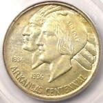 1938 S ARKANSAS HALF DOLLAR 50C   PCGS MS66    IN MS66   $1,100 VALUE