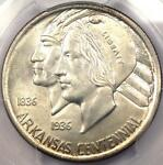1938 ARKANSAS HALF DOLLAR 50C   PCGS MS66    IN MS66   $1,200 VALUE