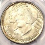 1936 D ARKANSAS HALF DOLLAR 50C COIN   PCGS MS67    IN MS67   $1,650 VALUE