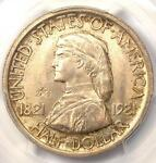 1921 MISSOURI 2X4 HALF DOLLAR 50C   PCGS MS65    IN MS65   $2,200 VALUE