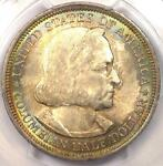 1893 COLUMBIAN EXPOSITION HALF DOLLAR 50C. PCGS MS66.  IN MS66. $950 VALUE