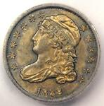 1832 CAPPED BUST DIME 10C. CERTIFIED ICG MS62    BU UNC COIN   $1,500 VALUE