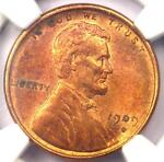 1909 S VDB LINCOLN WHEAT CENT 1C PENNY   NGC UNCIRCULATED DETAILS UNC MS