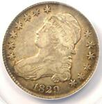 1829 CAPPED BUST HALF DOLLAR 50C O 114   ANACS XF40 EF40    CERTIFIED COIN