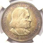 1892 COLUMBIAN EXPOSITION HALF DOLLAR 50C   NGC MS65    IN MS65   $585 VALUE