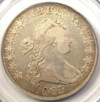 1803 DRAPED BUST HALF DOLLAR 50C LARGE 3   PCGS VF25    CERTIFIED COIN