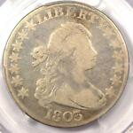 1803 DRAPED BUST HALF DOLLAR 50C   PCGS FINE DETAILS    CERTIFIED COIN