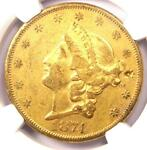 1874 CC LIBERTY GOLD DOUBLE EAGLE $20   NGC XF DETAILS EF   CARSON CITY COIN