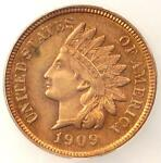 1909 PROOF INDIAN CENT 1C   ICG PR60 DETAILS PF60    PROOF PENNY
