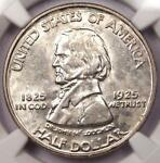 1925 VANCOUVER HALF DOLLAR 50C   NGC UNCIRCULATED    MS BU UNC COIN
