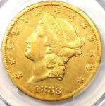 1883 CC LIBERTY GOLD DOUBLE EAGLE $20   PCGS XF DETAILS  EF    CARSON CITY COIN