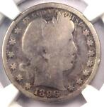 1896 S BARBER QUARTER 25C   NGC GOOD DETAILS    KEY DATE CERTIFIED COIN