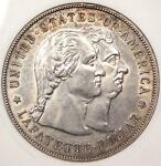 1900 LAFAYETTE SILVER DOLLAR $1   ANACS MS60 DETAILS    CERTIFIED BU COIN