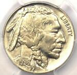 1936 DDR BUFFALO NICKEL 5C FS 801 VARIETY   PCGS UNC DETAIL  MS    $1200 IN AU55