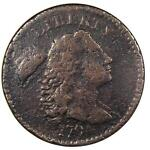 1794 LIBERTY CAP LARGE CENT 1C S 44   ANACS VF DETAILS   NET F12    COIN