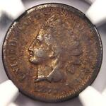 1877 INDIAN CENT 1C   NGC VG DETAILS    KEY DATE   CERTIFIED PENNY