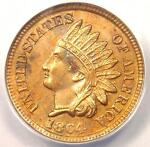 1864 INDIAN CENT BRONZE PENNY 1C   ANACS MS60 DETAILS  UNC     COIN