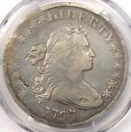 1797 DRAPED BUST SMALL EAGLE SILVER DOLLAR $1   PCGS FINE DETAILS    COIN