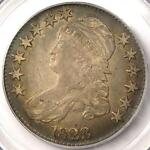 1823 CAPPED BUST HALF DOLLAR 50C O 103   PCGS XF40  EF40     CERTIFIED COIN