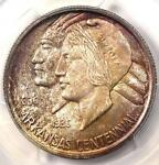 1936 ARKANSAS HALF DOLLAR 50C   PCGS MS66  CAC PQ PLUS GRADE   $800 VALUE