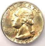 1960 WASHINGTON QUARTER 25C   CERTIFIED ICG MS67   $575 GUIDE VALUE IN MS67