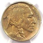 1924 S BUFFALO NICKEL 5C   PCGS AU DETAILS    DATE IN AU   KEY COIN