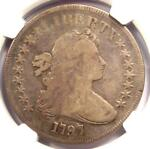 1797 DRAPED BUST SMALL EAGLE SILVER DOLLAR $1   NGC FINE DETAILS    COIN