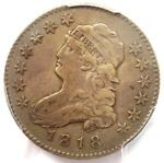 1818/5 CAPPED BUST QUARTER 25C B 3   PCGS VF DETAILS    COIN    DATE