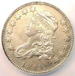 1819 CAPPED BUST QUARTER 25C   NGC AU DETAILS    EARLY DATE COIN IN AU