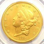 1873 CC LIBERTY GOLD DOUBLE EAGLE $20   PCGS XF DETAILS  EF    CARSON CITY COIN