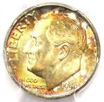 1946 S ROOSEVELT DIME 10C COIN   PCGS MS67  FB   PLUS GRADE   $475 VALUE