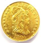 1804 CAPPED BUST GOLD HALF EAGLE $5   ANACS XF45 DETAILS    GOLD COIN