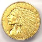 1908 INDIAN GOLD HALF EAGLE $5 COIN   ICG MS63    IN MS63   $930 VALUE