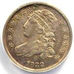 1832 CAPPED BUST DIME 10C   ANACS XF45 DETAIL  EF     EARLY CERTIFIED COIN