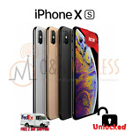 NEW Apple iPhone XS MAX (A1921, Factory Unlocked) -  All Colors & Capacity