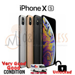 Apple iPhone XS 64GB │ 256GB │512GB (A1920 Factory Unlocked) Excellent Condition