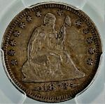 1873 SEATED LIBERTY QUARTER PCGS VF 35 ARROWS. NICE COIN AT AFFORDABLE PRICE.