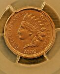 1859 INDIAN CENT MS 62 PCGS S 2 RPD EAGLE EYE