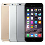 Apple iPhone 6+ Plus - 64GB - Silver, Space Gray, Gold Unlocked Smartphone - VGC