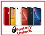 Apple iPhone XR- 64GB,128GB,256GB -(Factory Unlocked) A1984 (CDMA+GSM) All Color